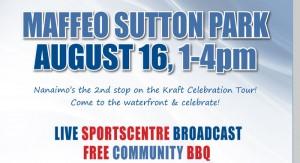 Kraft Celebration Tour Hits Nanaimo on August 16