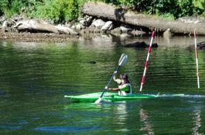 Nanaimo River Slalom at the BC Summer Games