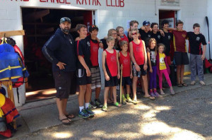 Outstanding Results for NCKC Sprint Kayak Team at BC CUP